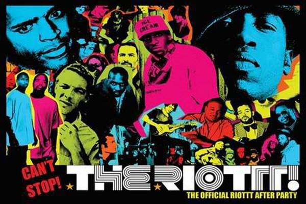 BE THE RIOTTT